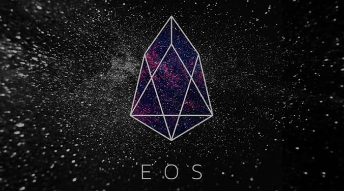 logo de la criptomoneda eos
