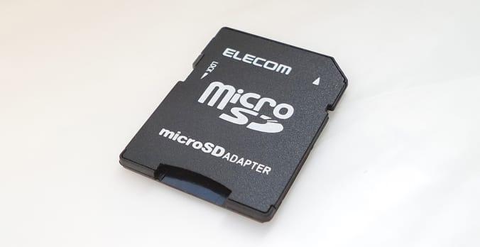 micro sd con proteción
