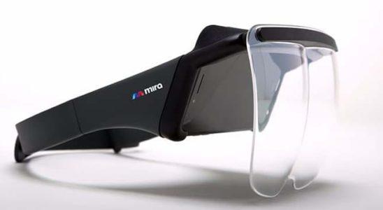 gafas de realidad aumentada mira prism