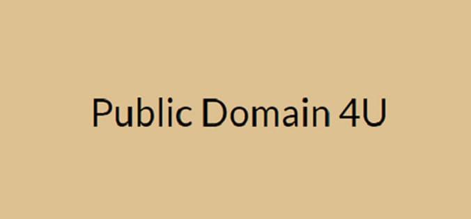 public domain 4u