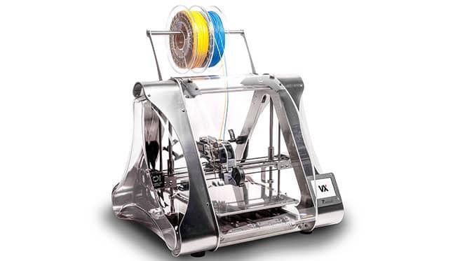 filamentos en una impresora 3D