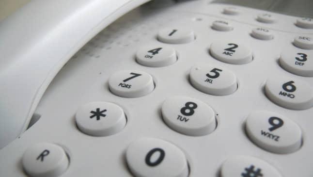 buscar un número de teléfono fijo